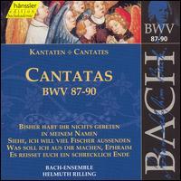 Bach: Cantatas, BWV 87-90 - Adalbert Kraus (tenor); Aldo Baldin (tenor); Arleen Augér (soprano); Helen Watts (alto); Ingeborg Reichelt (soprano);...