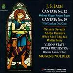 Bach: Cantatas Nos. 12 & 29