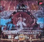 Bach: Cantatas Nos. 27, 34 & 41