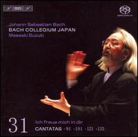 Bach: Cantatas, Vol. 31 - 91, 101, 121, & 133 - Bach Collegium Japan Orchestra; Concerto Palatino; Gerd Türk (tenor); Peter Kooij (bass); Robin Blaze (counter tenor);...