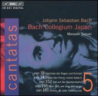 Bach: Cantatas, Vol. 5 - Bach Collegium Japan Chorus; Ingrid Schmithusen (soprano); Makoto Sakurada (tenor); Midori Suzuki (soprano);...