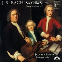 Bach: Cello Suites, BWV 1007-1012 - Jaap ter Linden (baroque violin)