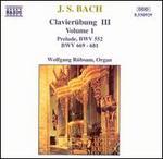 Bach: Claverübung III, Vol. 1