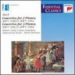 Bach: Concertos for 2 and 3 Pianos