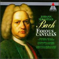 Bach: Famous Cantatas - Allan Bergius (soprano); Collegium Vocale; Collegium Vocale; Concentus Musicus Wien; Kurt Equiluz (tenor); Leonhardt Consort;...