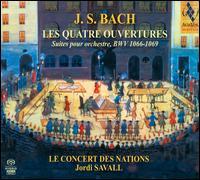 Bach: Les Quatre Ouvertures - Alfredo Bernardini (oboe); Fabio Biondi (violin); Josep Borras (bassoon); Marc Hantaï (flute); Paolo Grazzi (oboe);...