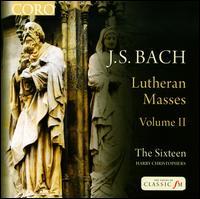 Bach: Lutheran Masses, Vol. 2 - Ben Davies (bass); Eamonn Dougan (bass); Grace Davidson (soprano); Jeremy Budd (tenor); Julia Doyle (soprano);...