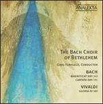 Bach: Magnificat BWV 243; Cantata BWV 191; Vivaldi: Gloria RV 589