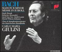 Bach: Mass in B minor - Andreas Röhn (violin); David Wilson-Johnson (bass); Dieter Salewski (oboe d'amore); Eberhard Marschall (bassoon);...