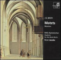 Bach: Motets - Bernarda Fink (alto); Gerd Türk (tenor); Maria Cristina Kiehr (soprano); Peter Kooij (bass); Sibylla Rubens (soprano);...