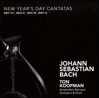 Bach: New Year's Day Cantatas - Alfredo Bernardini (oboe); Alida Schat (violin); Andrew Clark (corno d); Annette Markert (alto); Bogna Bartosz (alto);...