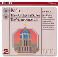 Bach: Orchestral Suites; Violin Concertos - Barry Davis (oboe); Celia Nicklin (oboe); Edward Hobart (trumpet); Graham Sheen (bassoon); Henryk Szeryng (violin);...