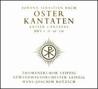 Bach: Oster-Kantaten - Antje Warnecke (descant); Eberhard Büchner (tenor); Heidi Rieß (alto); Helga Termer (soprano);...