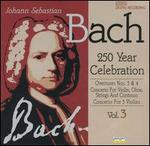Bach: Overtures Nos. 3 & 4; Concerto for Violin, Oboe, Strings & Continuo; Concerto for 3 Violins