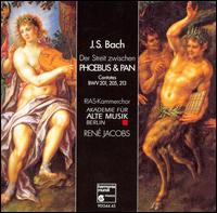 Bach: Phoebus & Pan - Alison Gangler (oboe d'amore); Andreas Lackner (trumpet); Andreas Scholl (counter tenor); Antje Schurrock (flute);...