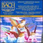 Bach: Solo Cantatas - Barry Baugess (trumpet); Drew Minter (counter tenor); Jeffrey Thomas (tenor); John Abberger (oboe); Julianne Baird (soprano); Kathleen Kraft (flute); William Sharp (baritone); American Bach Choir (choir, chorus); American Bach Soloists