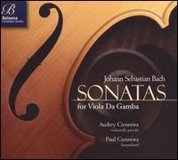 Bach: Sonatas for Viola da Gamba - Audrey Cienniwa (cello); Paul Cienniwa (harpsichord)