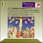 Bach: St. Matthew Passion Arias & Choruses