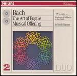 Bach: The Art of Fugue; Musical Offering - Andrew Davis (organ); Carmel Kaine (violin); Cecil James (bassoon); Celia Nicklin (horn); Christopher Hogwood (harpsichord); Denis Vigay (cello); Iona Brown (violin); John Gray (violone); Kenneth Heath (cello); Malcolm Latchem (violin); Neil Black (oboe)
