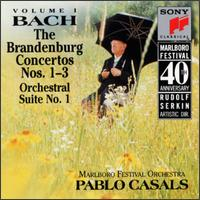 Bach: The Brandenburg Concertos Nos. 1-3; Orchestral Suite No. 1 - A. Robert Johnson (horn); Alexander Schneider (violin); Donald MacCourt (bassoon); John Mack (oboe); Joseph Turner (oboe);...