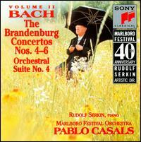 Bach: The Brandenburg Concertos Nos. 4-6; Orchestral Suite No.4 - Alexander Schneider (viola); Alexander Schneider (violin); Arnold Steinhardt (violin); Barbara Wilson (bass);...