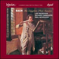 Bach: The Complete Flute Sonatas - Elizabeth Kenny (archlute); Lisa Beznosiuk (flute); Paul Nicholson (harpsichord); Rachel Brown (flute);...