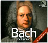 Bach: The Essentials - Alexandre Tharaud (piano); Andreas Staier (harpsichord); Andrew Manze (violin); Barbara Schlick (soprano);...