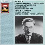 Bach: Violin Concertos; Double Concerto; Partita No. 2 (Chaconne)