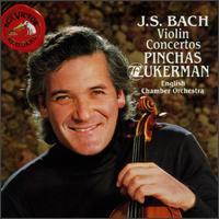 Bach: Violin Concertos - English Chamber Orchestra (chamber ensemble); Jose-Luis Garcia (Asensio) (violin); Pinchas Zukerman (violin);...