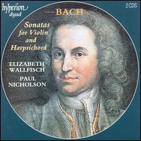 Bach: Violin Sonatas - Elizabeth Wallfisch (violin); Paul Nicholson (harpsichord); Richard Tunnicliffe (cello)