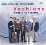 Bachiana: Double Concertos - Joachim Fiedler (cello); Léon Berben (harpsichord); Musica Antiqua Köln; Reinhard Goebel (viola); Robert Hill (fortepiano);...
