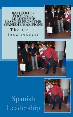 Ballfoot v Football: Leadership lessons from the Spanish Champions: The tiqui-taca success - Zuazola, Jorge, and Arango, Juan, and Uranga, Elisa