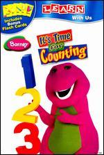 Barney: It's Time for Counting [With Flashcards]