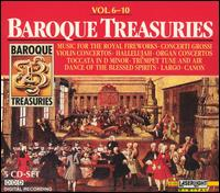 Baroque Treasuries, Vol. 6-10 - Blechbläserensemble Ludwig Güttler; Budapest Strings; Burkhard Glaetzner (oboe); Christian Altenburger (violin);...