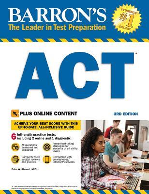 Barron's ACT with Online Tests - Stewart, Brian W.