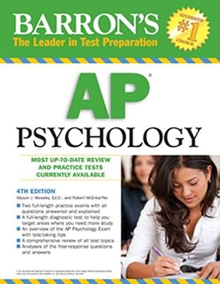 Barron's AP Psychology - Weseley, Allyson J, and McEntarffer, Robert