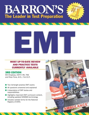 Barron's EMT, 3rd Edition - Chapleau, Wilfred, and Mercer, Steve