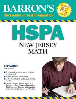 Barron's HSPA New Jersey Math - Arendt, Eileen D