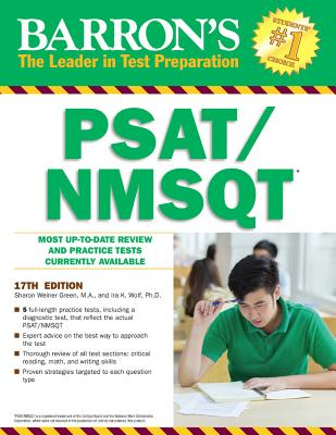 Barron's PSAT/NMSQT, 17th Edition - Green, Sharon Weiner