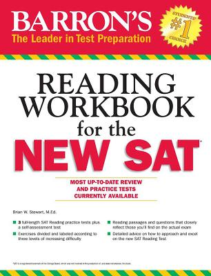 Barron's Reading Workbook for the New SAT, 15th Edition - Green, Sharon Weiner