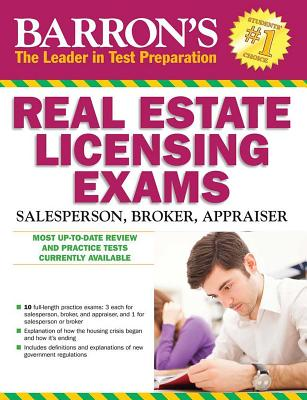 Barron's Real Estate Licensing Exams - Friedman, Jack P, and Lindeman, J Bruce