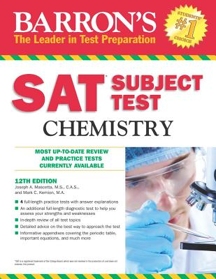 Barron's SAT Subject Test Chemistry - Mascetta, Joseph A