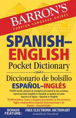 Barron's Spanish-English Pocket Dictionary - Cop, Margaret
