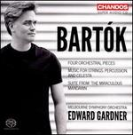 Bart�k: Four Orchestral Pieces; Music for Strings, Percussion and Celesta; Suite from The Miraculous Mandarin