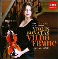 Bartók, Grieg, Strauss: Violin Sonatas - Michail Lifits (piano); Vilde Frang (violin)