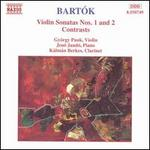 Bart�k: Violin Sonatas Nos. 1 & 2; Contrasts