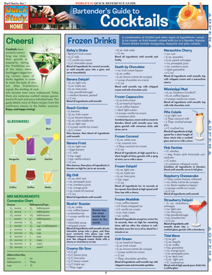 Bartender'S Guide To Cocktails - BarCharts, Inc.