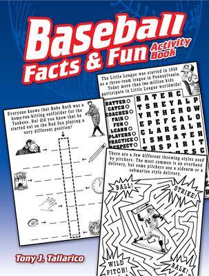 Baseball Facts & Fun Activity Book - Tallarico, Tony J