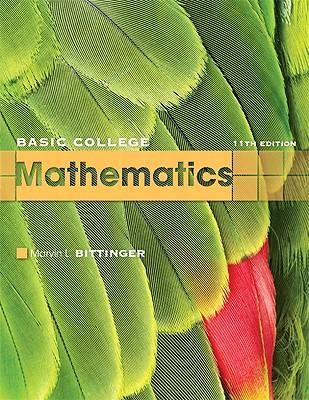 Basic College Mathematics - Bittinger, Marvin L