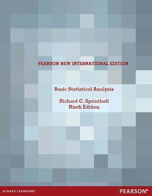Basic Statistical Analysis - Sprinthall, Richard C.